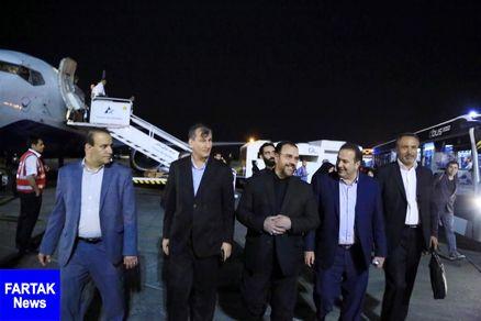 معاون پارلمانی رئیس جمهوری وارد شیراز شد