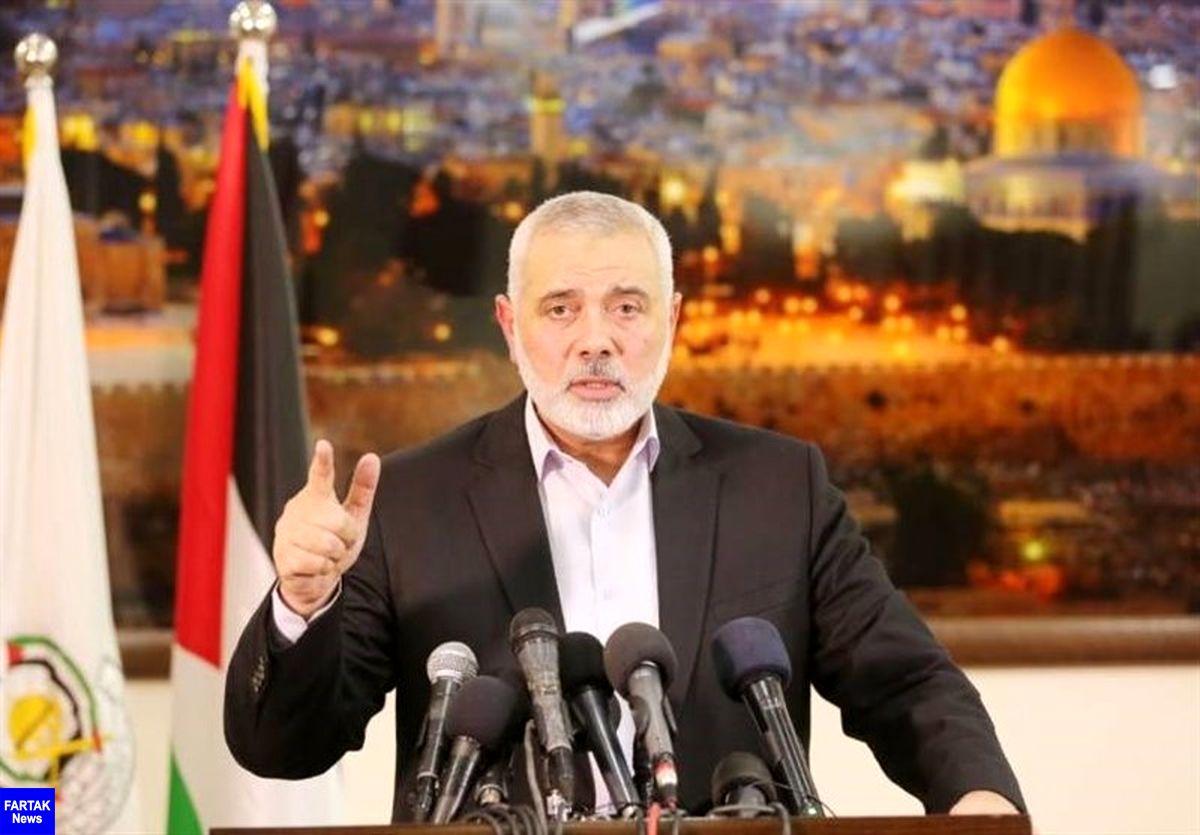 هنیه: امارات توجیهی برای عادیسازی روابط با رژیم صهیونیستی ندارد