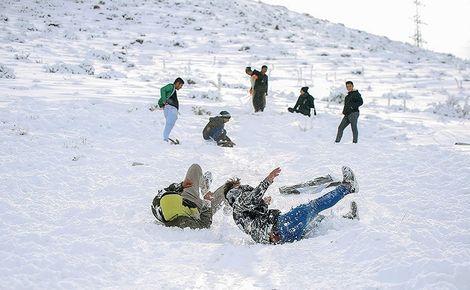 بارش برف و باران در استان کردستان تا روز سهشنبه ادامه دارد
