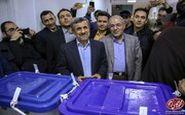 شاهکار جدید محمود احمدینژاد : آموزش ساخت ماسک ضد کرونا ،پای صندوق رای !