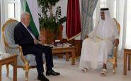 محمود عباس با امیر قطر دیدار کرد