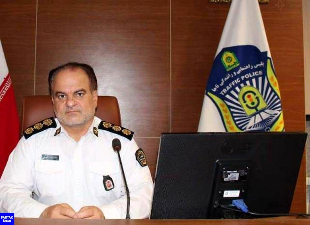 ماموران پلیس راهور، سارقان منزل را در کرمانشاه ناکام گذاشتند