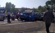 ۶ کشته و مصدوم در تصادف خونین  جاده رضی- اردبیل