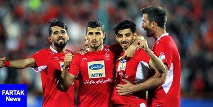 اعلام زمان سفر تیم فوتبال پرسپولیس به امارات