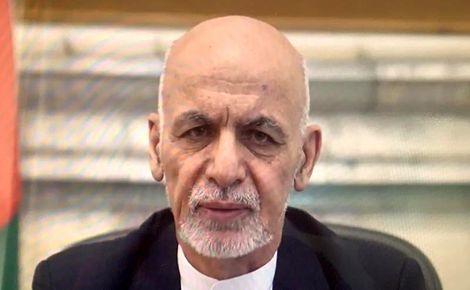 اشرف غنی: از حالا به بعد، طالبان مسئول «عزت و مال و صیانت» از مردم افغانستان است
