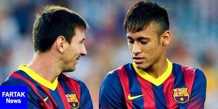 مسی علاقه مند به بازگشت نیمار به بارسلونا