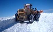 مسدود شدن راه ۶۰ روستا در برف کهگیلویه و بویراحمد