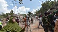 تخریب ناگهانی ساختمان در لحظه وقوع زلزله+فیلم