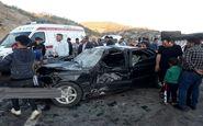۲ کشته و ۲ مصدوم در تصادف رانندگی محور