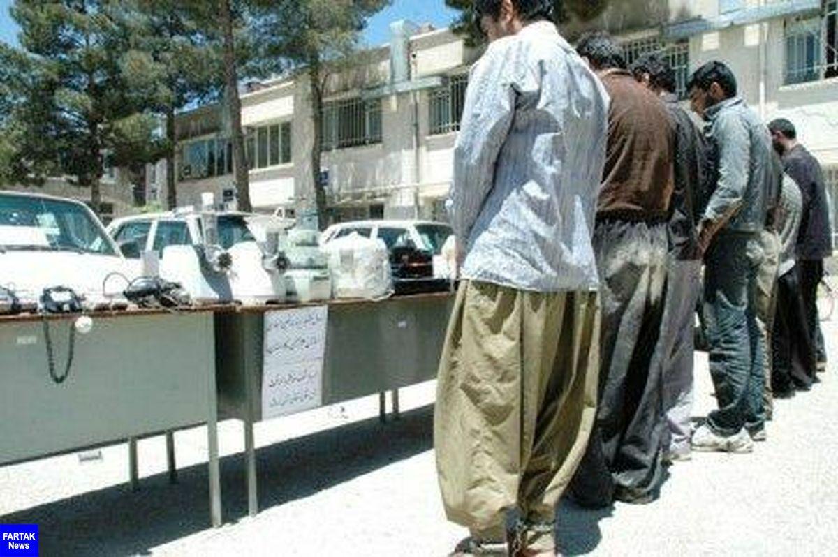 104 فقره سرقت در کرمانشاه کشف شد