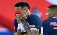 نیمار لیگ قهرمانان را از دست داد