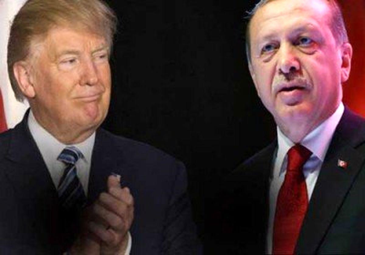 گفتگوی تلفنی ترامپ و اردوغان