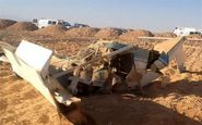 سرنگونی یک پهپاد جاسوسی رژیم صهیونیستی در نوار غزه