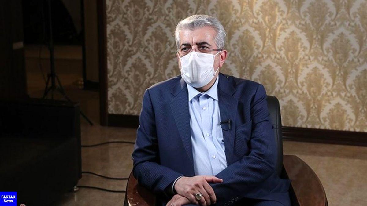 وزیر نیرو: مصرف گاز خانگی کم نشود خاموشی خواهیم داشت