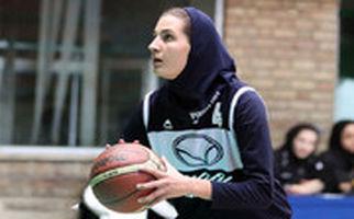 شاهکار دلارام وکیلی بسکتبالیست ایرانی در کنار ستارههای جهان
