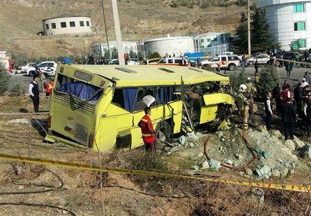 صدور حکم حبس برای متهمین حادثه اتوبوس واحد علوم تحقیقات