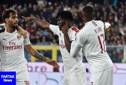 پیروزی میلان در یک بازی عجیب