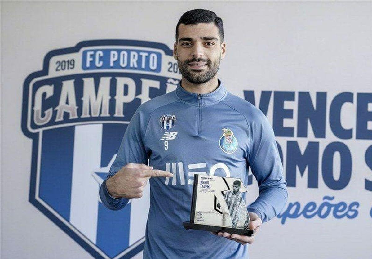 طارمی؛بهترین مهاجم ماه لیگ پرتغال