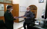 تقدیر رئیس بنیاد حفظ آثار و نشر ارزشهای دفاع مقدس از شهردار کرمانشاه