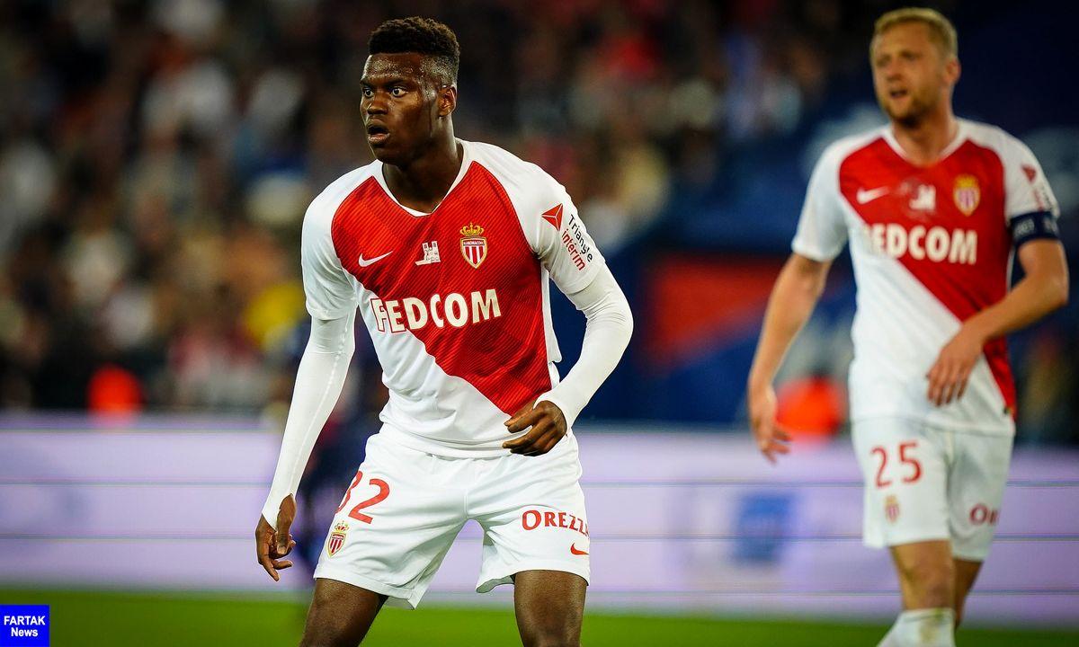 رقابت منچستریونایتد با رئال مادرید و بایرلورکوزن برای جذب مدافع موناکو