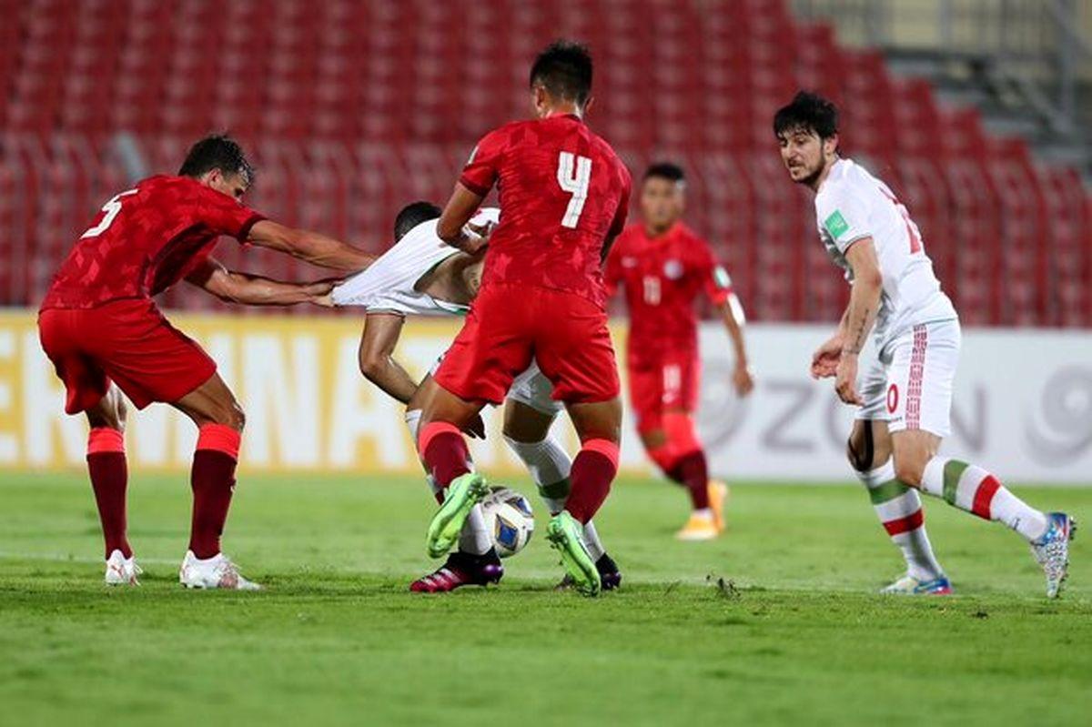 بازیکنان در بازی با بحرین باید مراقب باشند آرامش خود را از دست ندهند