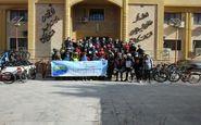 برگزاری همایش دوچرخه سواری بمناسبت روز ملی هوای پاک در کرمانشاه