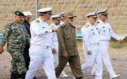 بازدید فرمانده ارتش از یگانهای نیروی دریایی در منجیل