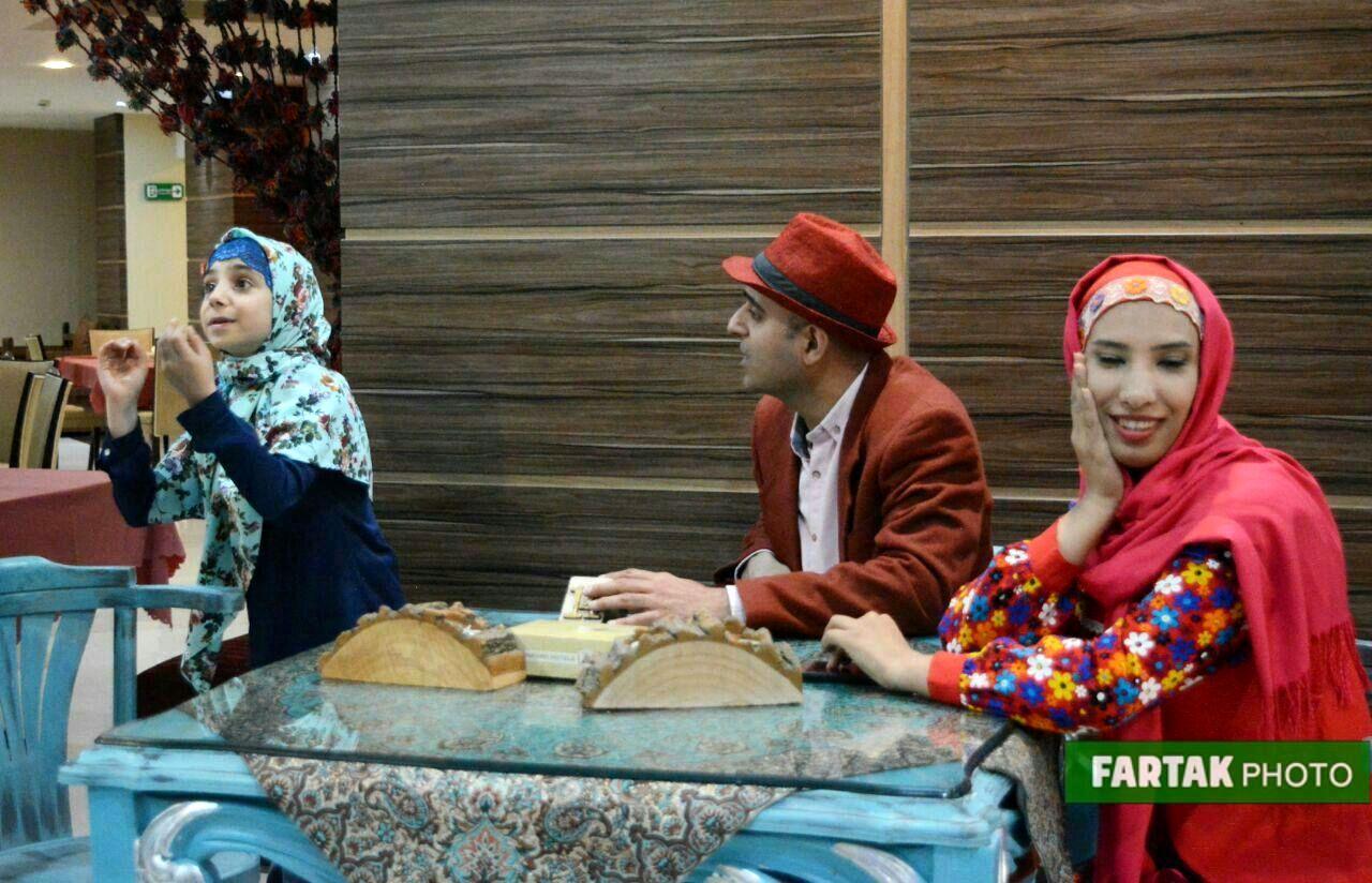 ماجراهای عمو احسان و خاله مهسان و  برنامههای شاد کودکانه با اجرای پر نشاط در هتل پارسیان