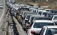 ترافیک پرحجم و روان در محور کرج-چالوس