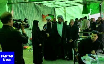 نمایشگاه شمیم حسینی علیه السّلام افتتاح شد