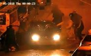 صحنه وحشتناکی که سارق خودرو در خیابان رقم زد!+فیلم