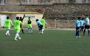 تساوی تیم های لیگ دویی در همدان