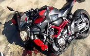 لحظه تصادف های مرگبار از دید راکبان موتور سیکلت + فیلم
