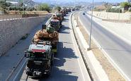 ترکیه تجهیزات نظامی جدید به مرزهای سوریه ارسال کرد