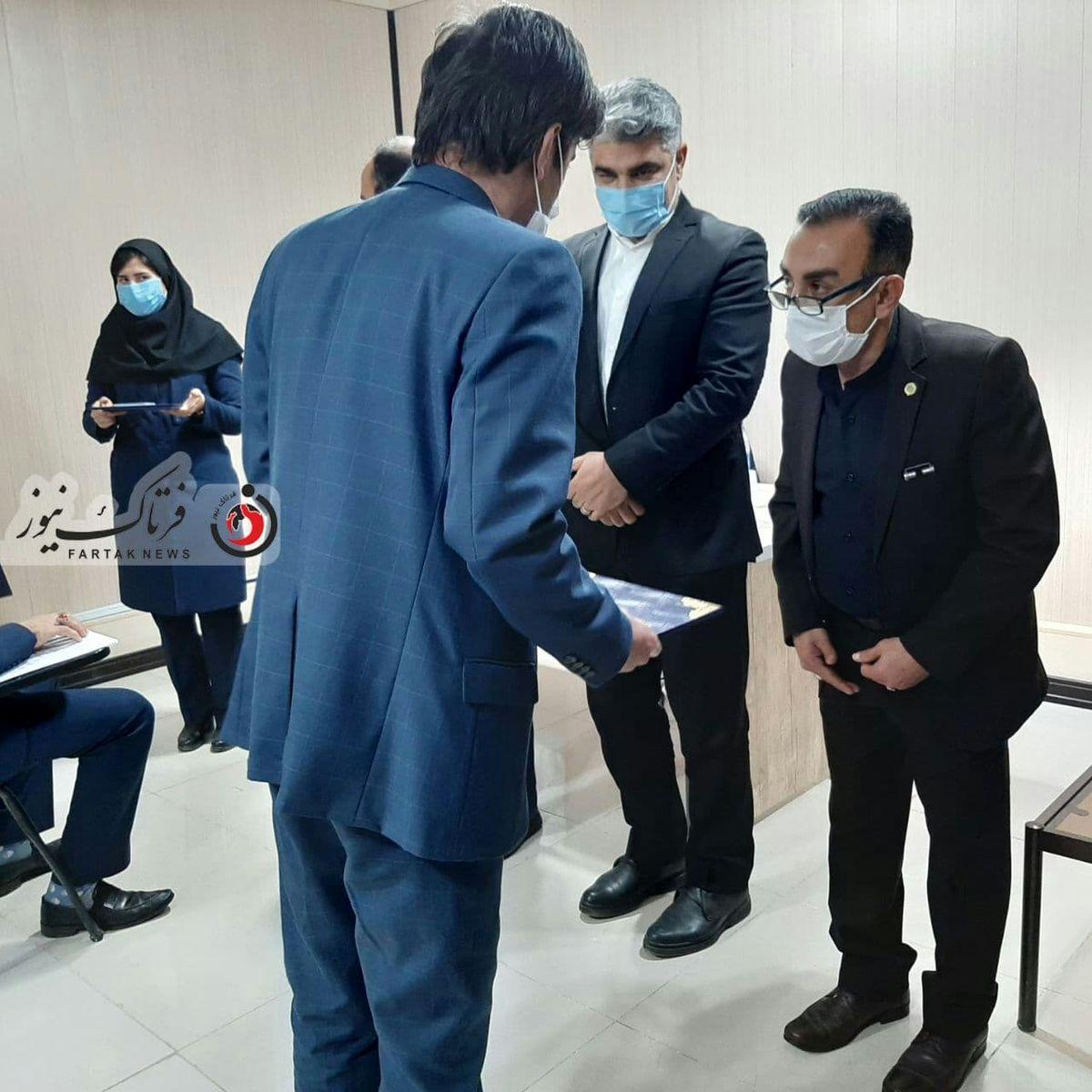برگزاری مراسم تحلیف در مرکز کارشناسان دادگستری استان کرمانشاه