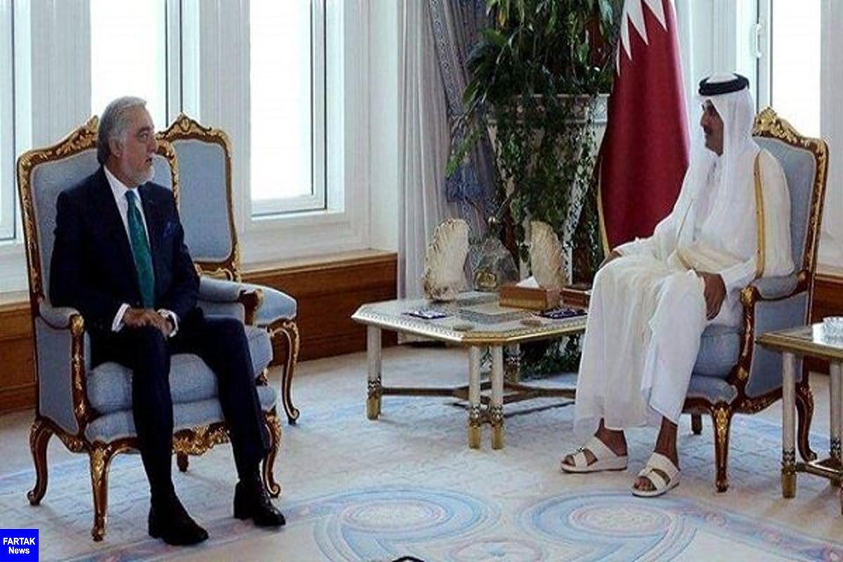 حمایت امیر قطر از تلاشهای صلح در افغانستان
