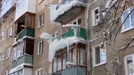 قندیل بستن خانهها در سرما روسیه+فیلم