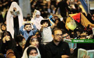 اختصاصی/ تصاویری ناب از شب بیست و یکم ماه رمضان