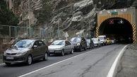 آخرین وضعیت راهها/ ترافیک در جاده های تهران آمل و کرج چالوس