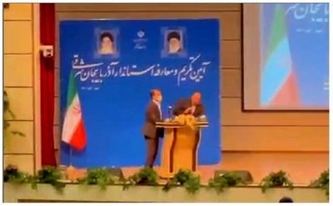 پشت پرده سیلی به استاندار آذربایجان شرقی چه بود؟!