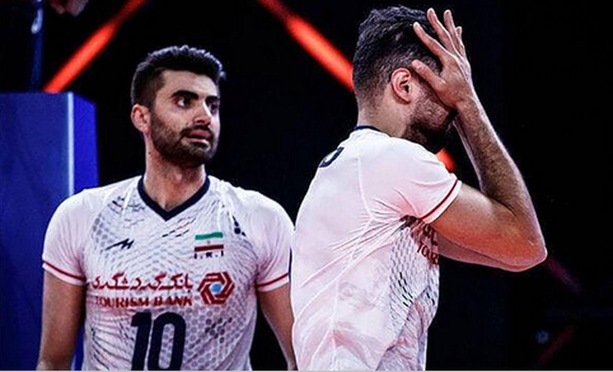 والیبال ایران مغلوب آلمان شد