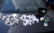 دستگیری یک قاچاقچی مواد مخدر هنگام فروش موادمخدر