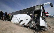 باز هم واژگونی اتوبوس و باز هم کشته!