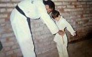 وقتی پدر بر روی تاتامی داور پسرش شد!