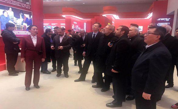 لاریجانی از موزه ملی چین بازدید کرد