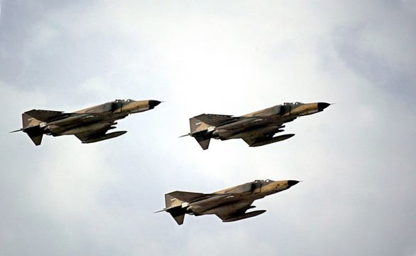 تمرین مشترک هوایی ارتش و سپاه در آبهای خلیج فارس آغاز شد