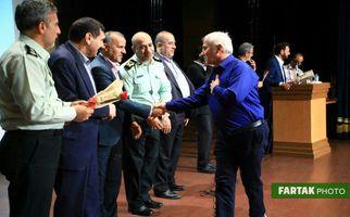 اختصاصی/ تصاویری زیبا از تجلیل آزادگان سرافراز ناجا توسط شهرداری منطقه سه تهران