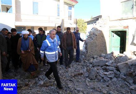 اسکان موقت زلزلهزدگان آغاز شد