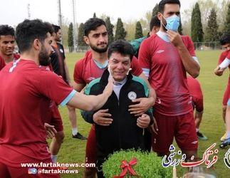اولین تمرین گاندوهای اصفهان در سال 1400 از لنز فرتاک ورزشی