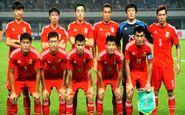 پایان دوران قرنطینه تیم ملی چین/تست کرونای بازیکنان منفی شد